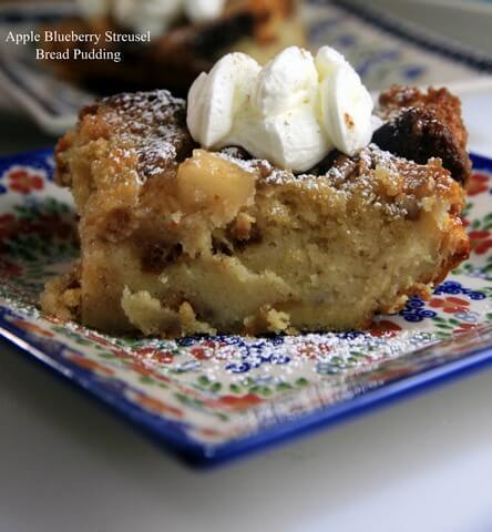 Apple Blueberry Bread Pudding 09.13.2015