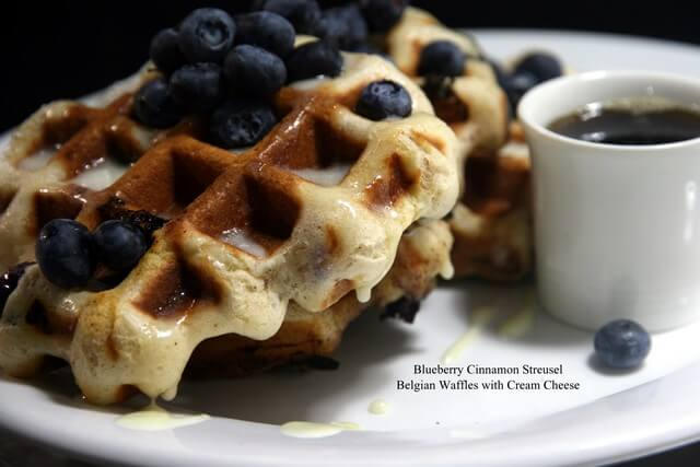 Blueberry Belgian Waffles 01.19.2016