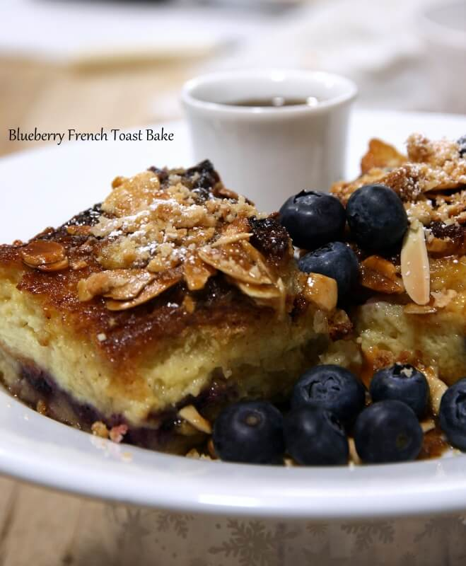Blueberry French Toast Bake 04.07.2016