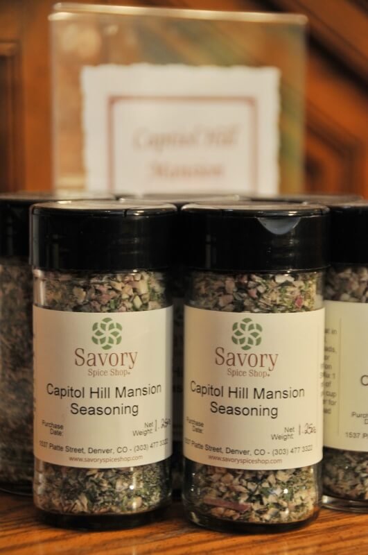 Capitol Hill Mansion Seasoning