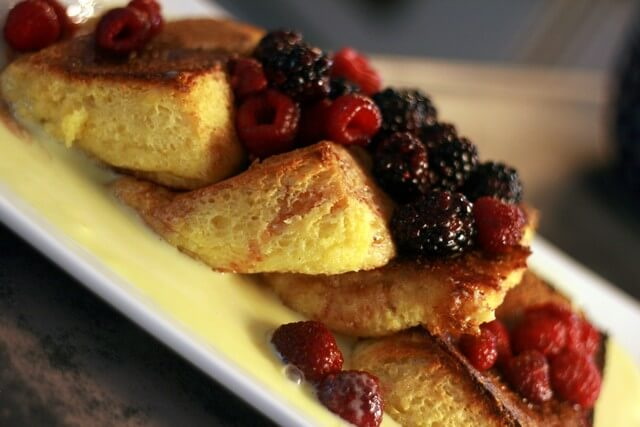 Creme Anglaise French Toast D