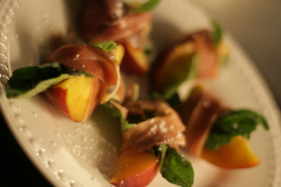 Palisade Peach With Serrano