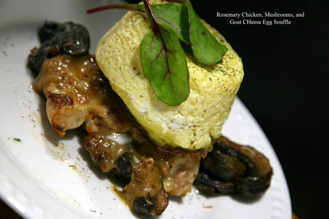 Rosemary Chicken Goat Cheese Souffle A 01.19.2015